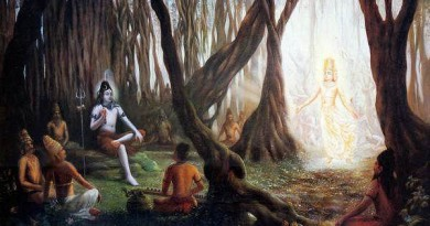 When Shiva hid himself in a peepal tree…